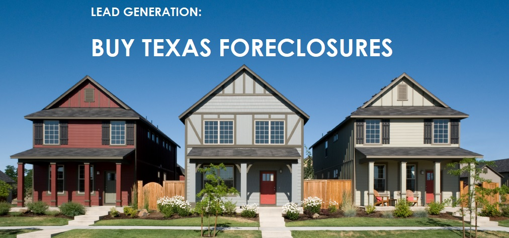 online courses- LEAD generation – buying Texas foreclosures