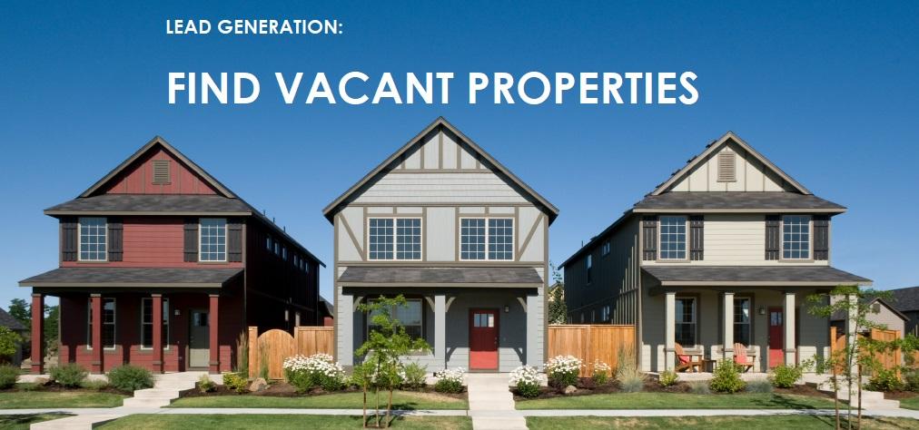 online courses- LEAD generation – vacant properties