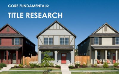 Texas Title Research & Examinations