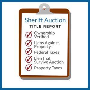 Sheriff Title Report